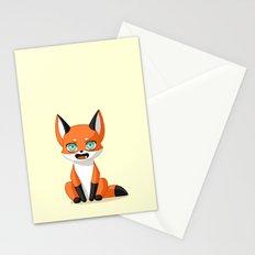 Fox Cub Stationery Cards