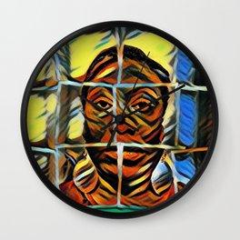 Digital Art Photography: Hope Unashamed Wall Clock