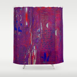 Dreams of Persia with Rumi Shower Curtain