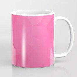 """Raspberry jam"" triangles design Coffee Mug"