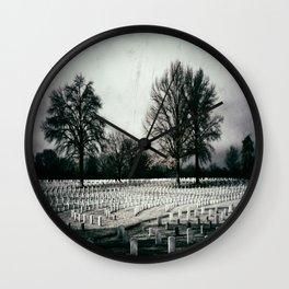 In Honor of Veteran's Day  Wall Clock