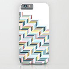 Herringbone Color Part Slim Case iPhone 6s