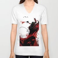 spawn V-neck T-shirts featuring Spawn by Scofield Designs