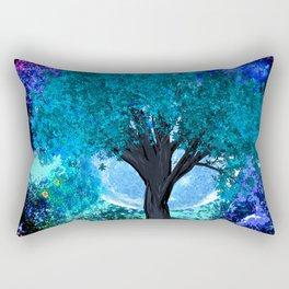 TREE MOON NEBULA DREAM Rectangular Pillow