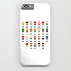 Superhero Alphabet Slim Case iPhone 6