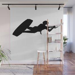 As High As A Kite Silhouette Wall Mural