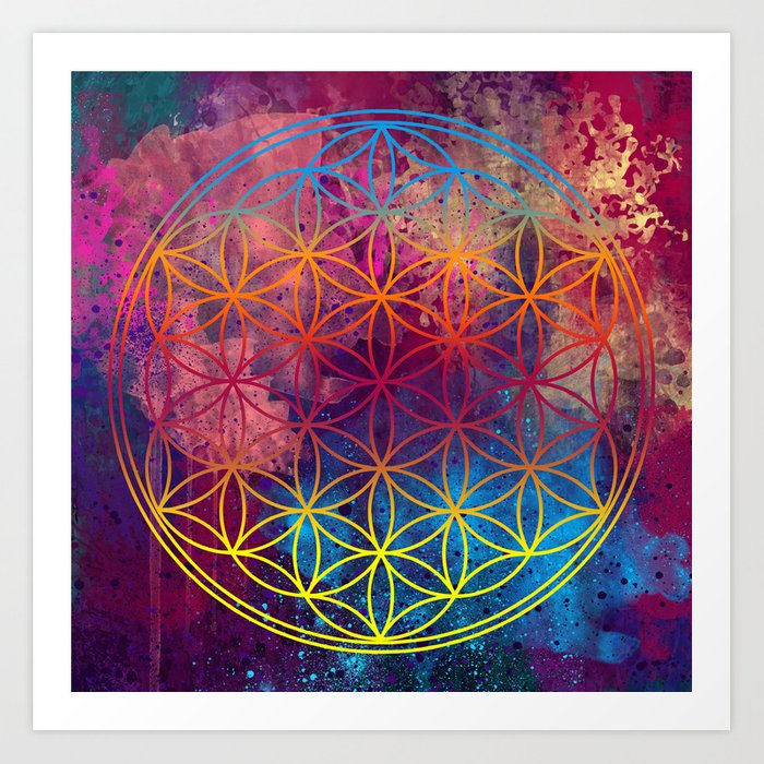 Flower of Life Art Print