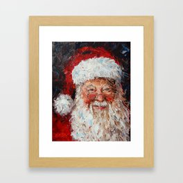 Saint Nicholas Framed Art Print