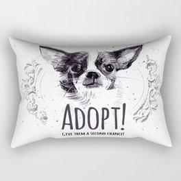 Adopt Rectangular Pillow