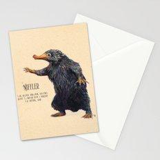 Niffler art Fantastic Beasts Stationery Cards