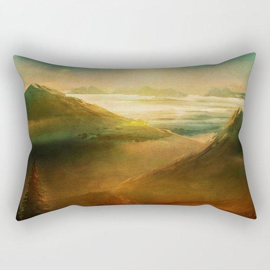 Into the trees Rectangular Pillow