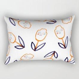 tulips everywhere Rectangular Pillow