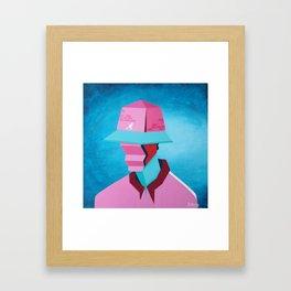 The Kangol Kid Framed Art Print