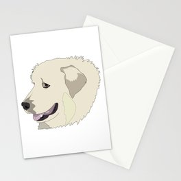 Pyrenean Mountain dog Stationery Cards