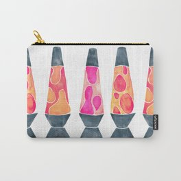 Retro Vibes – Peachy Pink Palette Carry-All Pouch
