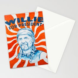 Willie For President Stationery Cards