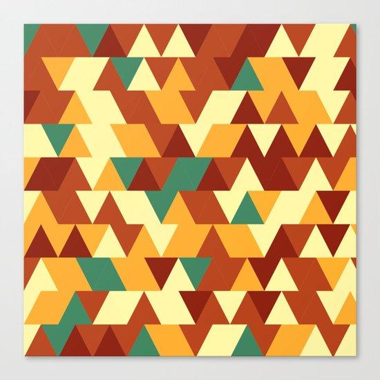 Hot tringles Canvas Print
