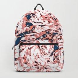 Rose Swirly Flowerz Backpack