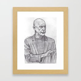 JK Simmons Framed Art Print