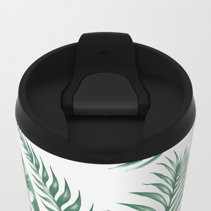 Summer pattern 1 Metal Travel Mug