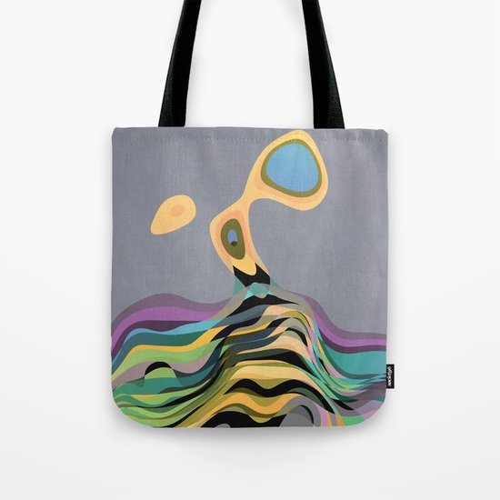 Back into the Ocean Tote Bag