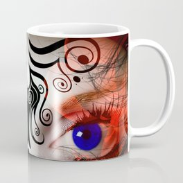 The Eyes Have It All Rights Reserved Copyright Marie Plourde Coffee Mug