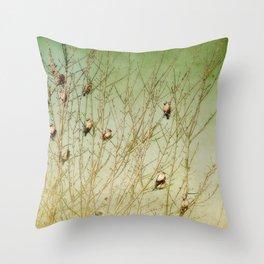 The Berry Snatchers Throw Pillow