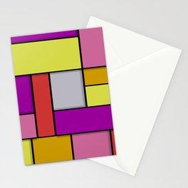 Mondrian #6 Stationery Cards