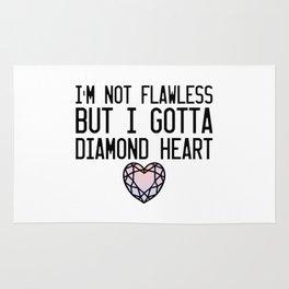 Diamond Heart Rug