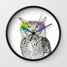 Owl I Wall Clock