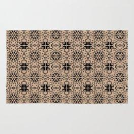 Hazelnut Star Geometric Rug