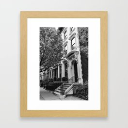 Brooklyn Heights Framed Art Print