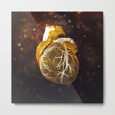 The Heart Of My Heart // So Far From Home Gold Edit Metal Print