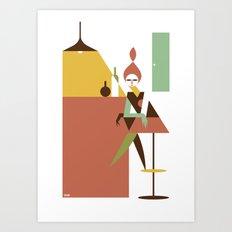 Mini Bar Art Print