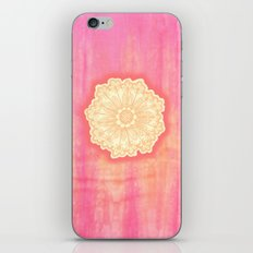 pink is s000 in.  iPhone & iPod Skin