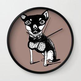 cute dog Wall Clock