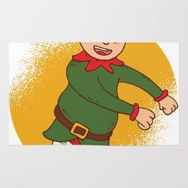 Elf Dancer, Christmas Spirit Rug
