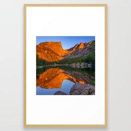 Dream Lake Morning Light - Colorado Framed Art Print