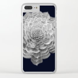 Succulents collage 2 Clear iPhone Case