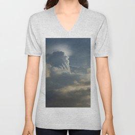 Godly Clouds Unisex V-Neck