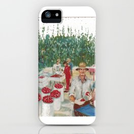 Tomato Growers,Australia             by Kay Lipton iPhone Case