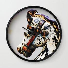 Nawlins Steed Wall Clock