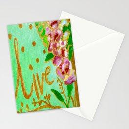 Live Everyday Stationery Cards