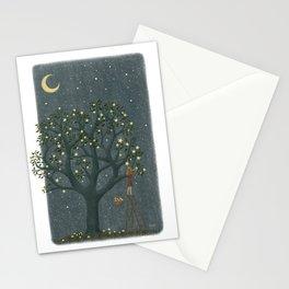 Star Tree Stationery Cards