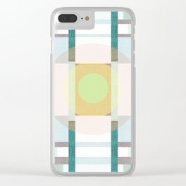 Deco 6 Clear iPhone Case