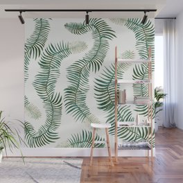 tropical leves wild Wall Mural