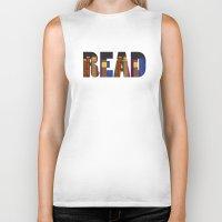 read Biker Tanks featuring READ by Empire Ruhl