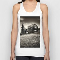 budapest hotel Tank Tops featuring Hotel by DistinctyDesign