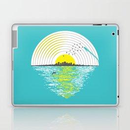 Morning Sounds Laptop & iPad Skin