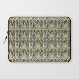 "Alfons Mucha, "" Four seasons 1896 "" 2 Laptop Sleeve"